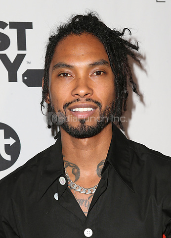 LOS ANGELES, CA - NOVEMBER 8: Miguel, at the Eva Longoria Foundation Dinner Gala honoring Zoe Saldana and Gina Rodriguez at The Four Seasons Beverly Hills in Los Angeles, California on November 8, 2018. Credit: Faye Sadou/MediaPunch