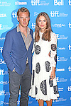 Benedict Cumberbatch and Keira Knightley during the Photo Call for 'The Imitation Game' at the the tiff Bell Lightbox during the 2014 Toronto International Film Festival on September 9, 2014 in Toronto, Canada.