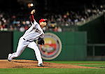 29 September 2009: Washington Nationals' pitcher J.D. Martin on the mound against the New York Mets at Nationals Park in Washington, DC. The Nationals rallied to defeat the Mets 4-3 in the second game of their final 3-game home series. Mandatory Credit: Ed Wolfstein Photo