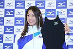 Aya Terakawa, .NOVEMBER 30, 2012 - Swimming : .Aya Terakawa attends a press conference .of 2013 new Mizuno brand swimsuits .at S'PORT Mizuno, Tokyo, Japan. .(Photo by YUTAKA/AFLO SPORT) [1040]