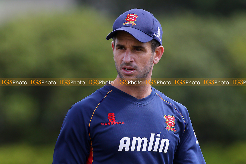 Ryan ten Doeschate of Essex CCC looks on ahead of play on Day One