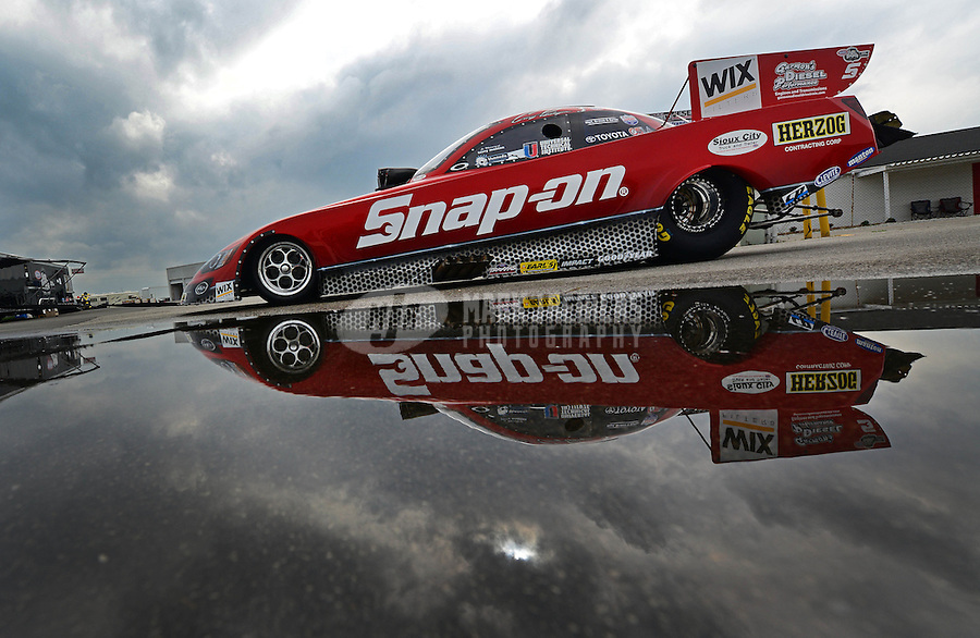 31 August - 3 September, 2012, Indianapolis, Indiana USA, Cruz Pedregon, Snap-On Tools, Toyota Camry, funny car @2012, Mark J. Rebilas