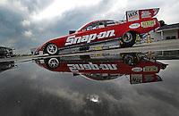 31 August - 3 September, 2012, Indianapolis, Indiana USA, Cruz Pedregon, Snap-On Tools, Toyota Camry, funny car @2012, Mark J. Rebilas