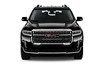 Car photography straight front view of a 2020 GMC Acadia Denali 5 Door SUV Front View
