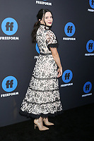 LOS ANGELES - JAN 18:  Katie Stevens at the Freeform Summit 2018 at NeueHouse on January 18, 2018 in Los Angeles, CA