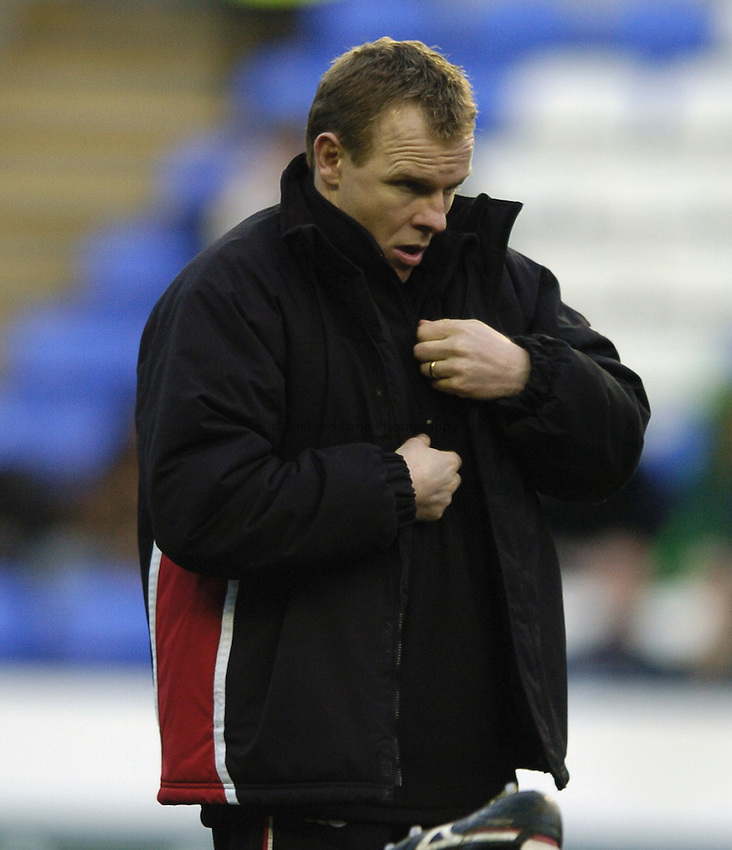 Photo: Jonathan Butler...London Irish v Ulster Rugby. Heineken Cup. 09/12/2006...Mike McCall Ulster Head Coach.