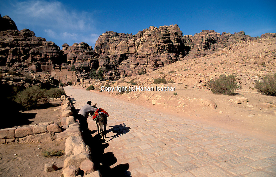 Jordan, Petra. The Colonnaded Street&#xA;<br />