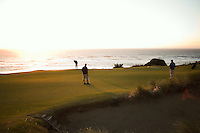 #11 green, Pacific Dunes, Bandon Dunes Golf Resort, Bandon Oregon