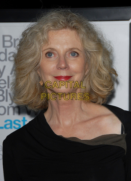 "BLYTHE DANNER.L.A. Premiere of ""The Last Kiss"" held at The DGA in West Hollywood, California, USA..September 13th, 2006.Ref: DVS.headshot portrait red lipstick.www.capitalpictures.com.sales@capitalpictures.com.©Debbie VanStory/Capital Pictures"
