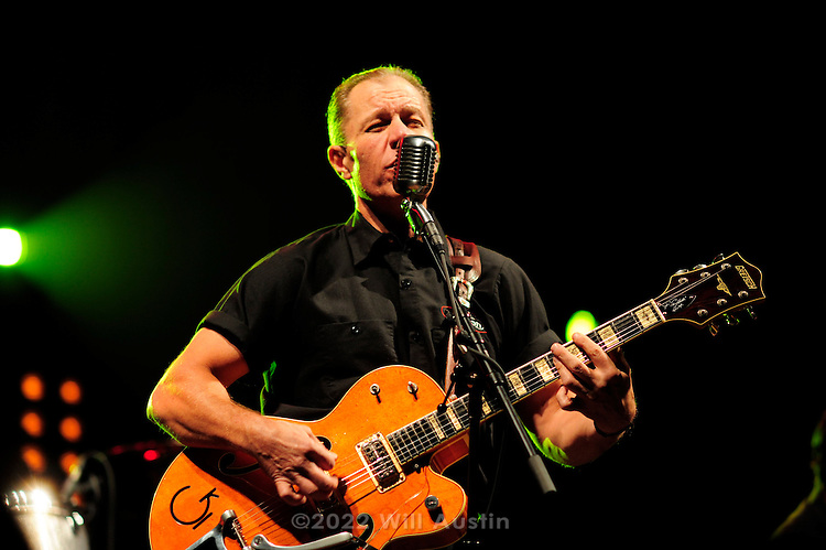 The Reverend Horton Heat plays at the 2011 Bumbershoot festival in Seattle, Washington