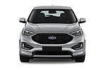 Car photography straight front view of a 2019 Ford Edge ST Line 5 Door SUV
