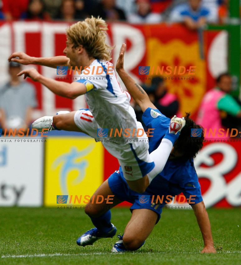 HAmburg 22/6/2006 World Cup 2006.Repubblica Ceca Italia 0-2.Photo Andrea Staccioli Insidefoto.gattuso e nedved