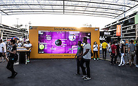 AMBIENCE - FAN ZONE, SINGAPORE SPORT'S HUB, SINGAPORE INDOOR STADIUM<br /> <br /> The BNP Paribas WTA Finals 2014 - The Sports Hub - Singapore - WTA  2014  <br /> <br /> 26 October 2014<br /> <br /> &copy; AMN IMAGES
