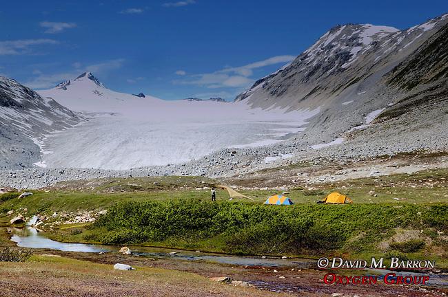Glacier & Campsite