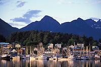 Sitka boat harbor, Sitka, Alaska