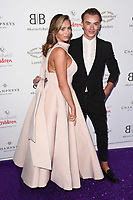 LONDON, UK. June 13, 2019: Amy Childs and Harry Derbridge arriving for Caudwell Butterfly Ball 2019 at the Grosvenor House Hotel, London.<br /> Picture: Steve Vas/Featureflash