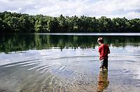 Fishing at Randolph Lake