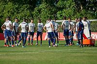 SÃO PAULO, SP, 24.07.2019: TREINO SÃO PAULO -SP-  Jogadores do São Paulo durante treino da equipe no CT da Barra Funda, em São Paulo (SP),  na zona oeste de São Paulo, nesta quarta-feira (24). (Foto: Marivaldo Oliveira/Código19)
