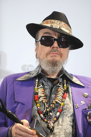 Dr. John at the 26th annual Rock and Roll Hall of Fame Induction Ceremony at The Waldorf=Astoria  in New York City. March 14, 2011. Credit: Dennis Van Tine/MediaPunch