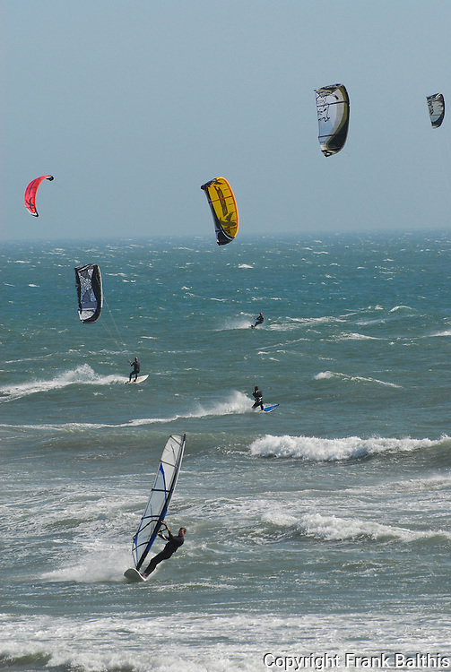 Windsurfing at Waddell Beach