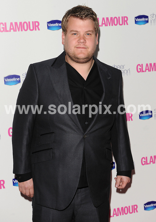 **ALL ROUND PICTURES FROM SOLARPIX.COM**.**WORLDWIDE SYNDICATION RIGHTS**.inside arrivals at the Glamour Women of the Year Awards 2010. Held in Berkley Square, London, UK. 8 June 2010..This pic: James Corden..JOB REF: 11427 SSD    DATE: 08_06_2010.**MUST CREDIT SOLARPIX.COM OR DOUBLE FEE WILL BE CHARGED**.**MUST NOTIFY SOLARPIX OF ONLINE USAGE**.**CALL US ON: +34 952 811 768 or LOW RATE FROM UK 0844 617 7637**