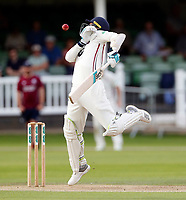 Matt Henry bats for Kent during the County Championship Division Two (day 3) game between Kent and Northants at the St Lawrence ground, Canterbury, on Sept 4, 2018.