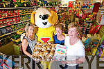 The launch of the fundraiser for the Jack and Jill Foundation at Caball's Toymaster, Tralee on Thursday. Pictured from left: Ann O'Sullivan, Toby, Hannah O'Regan and Ann Laide.