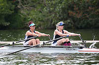 Race: 102  W.MasB.2x  Semi-Final<br /> 235  Upper Thames Rowing Club<br /> 237  Evesham Rowing Club<br /> <br /> Henley Masters Regatta 2018 - Friday<br /> <br /> To purchase this photo, or to see pricing information for Prints and Downloads, click the blue 'Add to Cart' button at the top-right of the page.