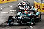 Oliver Turvey of Nextev Nio team during the first race of the FIA Formula E Championship 2016-17 season HKT Hong Kong ePrix at the Central Harbourfront Circuit on 9 October 2016, in Hong Kong, China. Photo by Victor Fraile / Power Sport Images