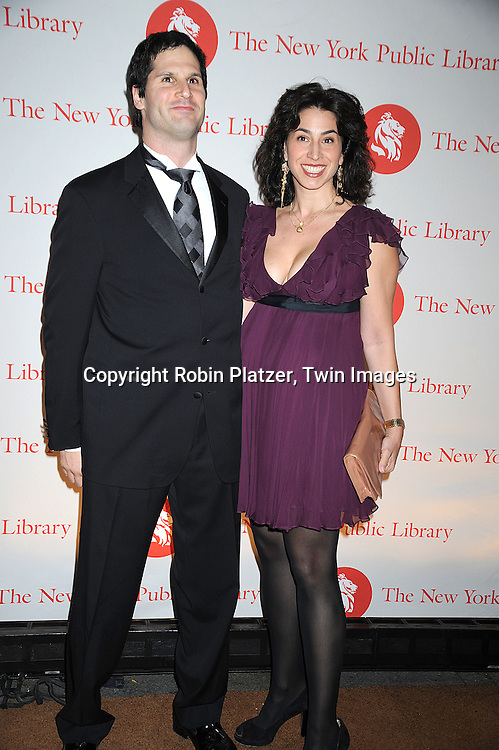 Sam Natapoff and Alexandra Stanton..arriving at The New York Public Library 2008 Library Lions Benefit Gala on November 3, 2008 at The New York Public Library at 42nd Street and 5th Avenue.....Robin Platzer, Twin Images