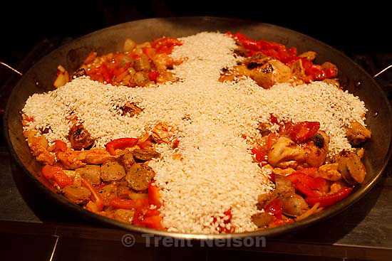 Salt Lake City - Matt Lowe has traveled to Spain man times and made paella his passion. He even has a blog devoted to all things paella. Wednesday March 4, 2009..