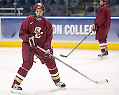 Anthony Aiello - The Boston College Eagles took their morning skate on Saturday, April 8, 2006, at the Bradley Center in Milwaukee, Wisconsin to prepare for the 2006 Frozen Four Final game versus the University of Wisconsin.