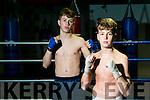 St Margaret's Boxing Club member Paddy Walsh, Kenmare, Daniel Henrickson, Tralee winners of bronze at Smithfield Box Fest European Games last weekend