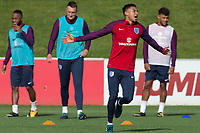 Jesse Lingard during the part open training session of the  England national football squad at St George's Park, Burton-Upon-Trent, England on 31 August 2017. Photo by James Williamson.