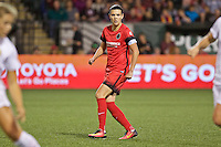 Portland, Oregon - Sunday September 11, 2016: Portland Thorns FC forward Christine Sinclair (12) during a regular season National Women's Soccer League (NWSL) match at Providence Park.