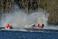 Frame 11: Serena Durr 96-F, Erin Pittman 6-H crash. (Outboard Hydroplanes)