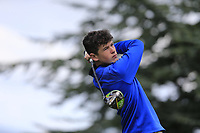 James McMaster (Holywood) during the final round at Carnalea Golf Club, Bangor, Antrim, Northern Ireland. 07/08/2019.<br /> Picture Fran Caffrey / Golffile.ie<br /> <br /> All photo usage must carry mandatory copyright credit (© Golffile | Fran Caffrey)