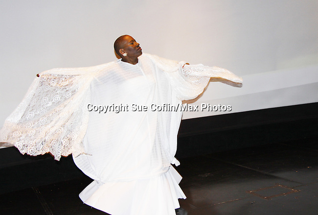 "At the gala Nana Malaya (mom to Lamman Rucker- ATWT & AMC) performed a dance to ""If I Could Fly"".  Nana is artistic director, choreographer, storyteller, motivaitonal speaker, poet, minister, dancer, actress, fitness consultant. - The United States Memorial Celebrates Black History Month with a benefit performance of the Layon Gray's Black Angels Over Tuskegee attend the gala on February 22, 2011 in Washington, DC before performing on Friday, February 25. (Photo by Sue Coflin/Max Photos)"