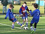 EMU Sami Roche Boyne Rovers Tom Sheppard and Jack Rooney. Photo:Colin Bell/pressphotos.ie