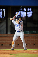 Pensacola Blue Wahoos designated hitter Devin Mesoraco (39) at bat during a game against the Mobile BayBears on April 25, 2017 at Hank Aaron Stadium in Mobile, Alabama.  Mobile defeated Pensacola 3-0.  (Mike Janes/Four Seam Images)
