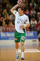Bozidar Markicevic (FAG) am Ball, wirft
