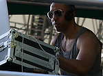 Vikter Duplaix spins at Raphael Saadiq/ Aloe Blacc - Central Park Summer Stage, New York 7/17/10