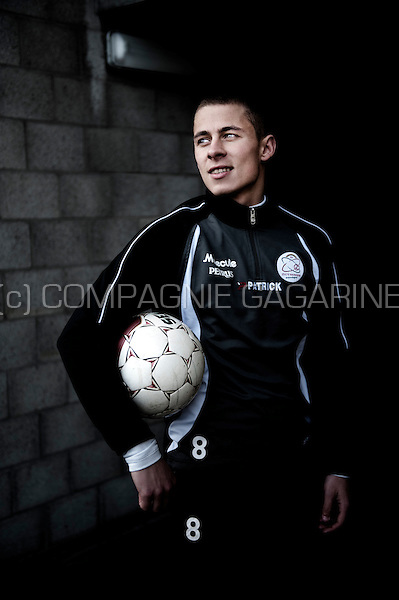 Belgian football player Thorgan Hazard (Belgium, 19/02/2013)