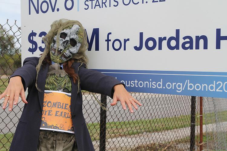Vote Early Zombie at Jordan High School
