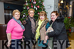 Phyllis Nolan, Masella Bolster, Josephine Kaley, Amanda McCarthy enjoying the Ashe Hotel Christmas party night on Saturday
