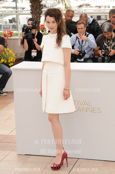 "Astrid Berges-Frisbey at the photocall for her movie ""Pirates of the Caribbean: On Stranger Tides"" at the 64th Festival de Cannes..May 14, 2011  Cannes, France.Picture: Paul Smith / Featureflash"