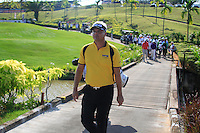 Daniel Chopra (SWE) walks down the 10th hole during Sundays Final Round 3 of the 54 hole Iskandar Johor Open 2011 at the Horizon Hills Golf Resort Johor, Malaysia, 19th November 2011 (Photo Eoin Clarke/www.golffile.ie)