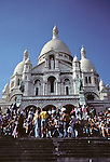 Basilica of the Sacre Cur, Montmartre, Paris