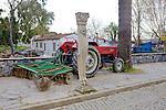 Selcuk Statue & Farm Tractor