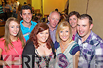 Enjoying the live music last Sunday in The Three Counties Bar for the Con Curtin Music Festival in Brosna was locals Michelle Walsh, Shane Curtin, Sile O'Connor(Abbeyfeale), Eamon Walsh, Mairead Lane, Margaret Walsh and Sean Cronin(Castleisland)